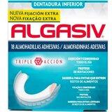 algasiv almofadinhas para dentadura inferior 18 unidades