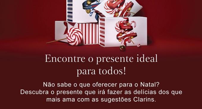 Clarins: sugestão de presentes