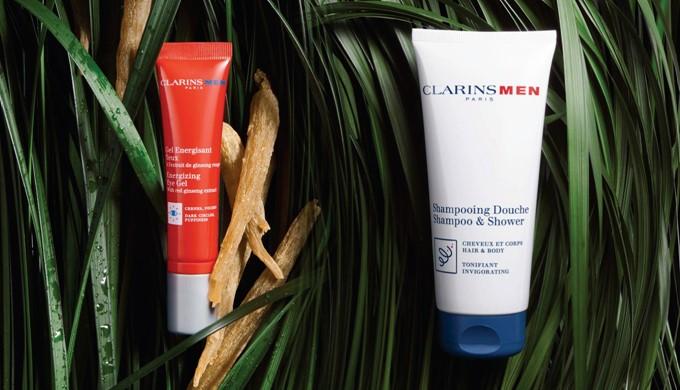 clarins men reforçar pele revigorar e tonificar
