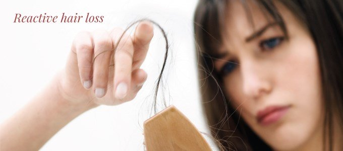 Reactive hair loss