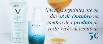 Vichy descontos flash ⌚ tic tac tic tac