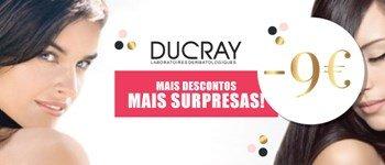 Campanha exclusiva sweetcare➪ ducray -9€