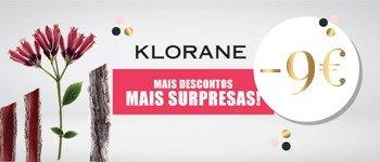 Campanha exclusiva sweetcare➪ klorane -9€