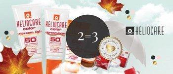 Heliocare 2=3 | campanha exclusiva sweetcare