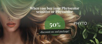 Phytocolor sensitive or phytocolor - 50% discount