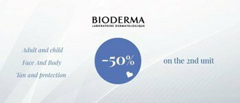 Bioderma sunscreens - 50%