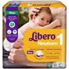 Libero Fraldas baby soft 2-5kg, 28 unidades