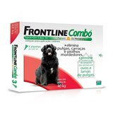 frontline combo spot on 3 pipetas cães xl 40-60 kg