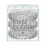 invisibobble hair ring crystal clear 3 units