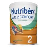nutriben a.o. 2 confort leite de transição para reduzir a obstipação a partir 6meses 800g