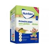 nutriben primeira papa sem gluten a partir dos 4 meses 600g
