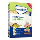 nutriben multifrutas papa para bebé sem gluten 300g