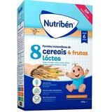 nutriben papa 8 cereais com 4 frutas e leite adaptado 300g