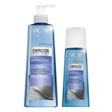 dercos mineral soft fortifying shampoo frequent use 400ml+200ml