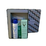 vichy normaderm skin box: normaderm 50ml + água termal 50ml + gel de limpeza 15ml