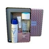 vichy idealia skin box: idealia ps 50ml + água termal 50ml + desmaquilhante 100ml