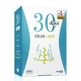 30 days 30 days cólon limpo restabelece a função intestinal 60comprimidos