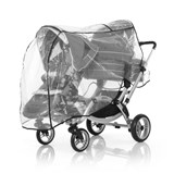abcdesign raincover for twins stroller zoom