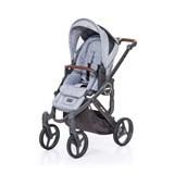 abcdesign mamba plus carrinho de passeio para bebé graphite grey