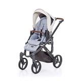 abcdesign mamba plus carrinho de passeio para bebé graphite grey-sheep