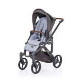 abcdesign mamba plus carrinho de passeio para bebé graphite grey-cloud