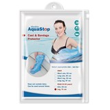 aquastop waterproof plaster protections half leg 1 unit for children