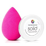 beautyblender original 1unidade + mini solidcleanser 16g