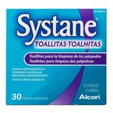 systane systane wipes for cleaning the eyelid 30wipes