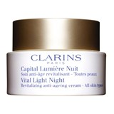 Clarins Capital lumière creme revitalizante de noite todo tipo peles 50ml