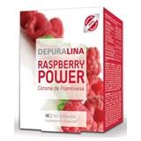 depuralina raspberry power cetonas de framboesa 60 cápsulas