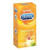 durex durex tuttifruti preservativos 12unidades
