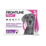 tri-act para cães dos 20 aos 40kg 3pipetas