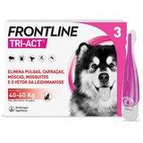 tri-act para cães dos 40 aos 60kg 3pipetas