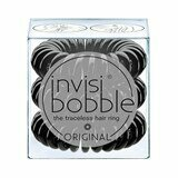 invisibobble hair ring true black 3 units