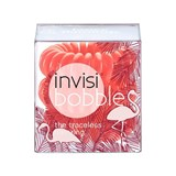 invisibobble elástico fancy flamingo coral 3 unidades