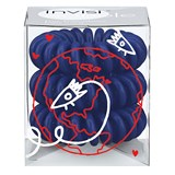 invisibobble hair ring universal blue 3 units
