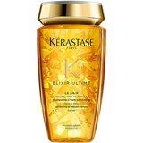 kerastase bain elixir ultime shampoo brilho e leveza 250ml