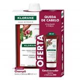 klorane pack quinine anti-hair loss shampoo 2x400ml