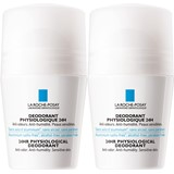 la roche posay duo physiologique desodorizantes roll on 24h 2x50ml