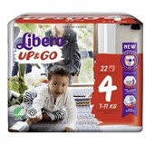 up & go diapers 7-11kg, 24 units