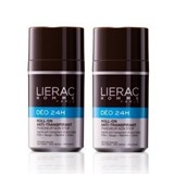 lierac homme déo roll on anti-perspirant 2x50ml