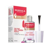 mavala gel finish top coat efeito unhas de gel 10ml