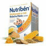 nutriben multicereals honey and maria wafer from 6months 600g