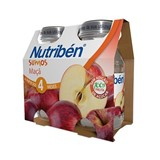 nutriben apple juice from 4months 2x130ml