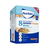 nutriben 8 cereals with 4 fruits and adapted milk 300g