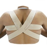 orliman e-240 strong shoulder support to correct incorrect positions size1