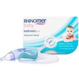 rhinomer rhinomer baby narhinel soft aspirador nasal 1unidade