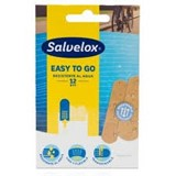 salvequick transparent plastic plasters 12units