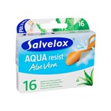 salvequick aqua resist plasters with aloe vera 16units