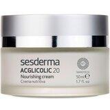 sesderma acglicolic 20 nourishing cream for very dry skin 50ml